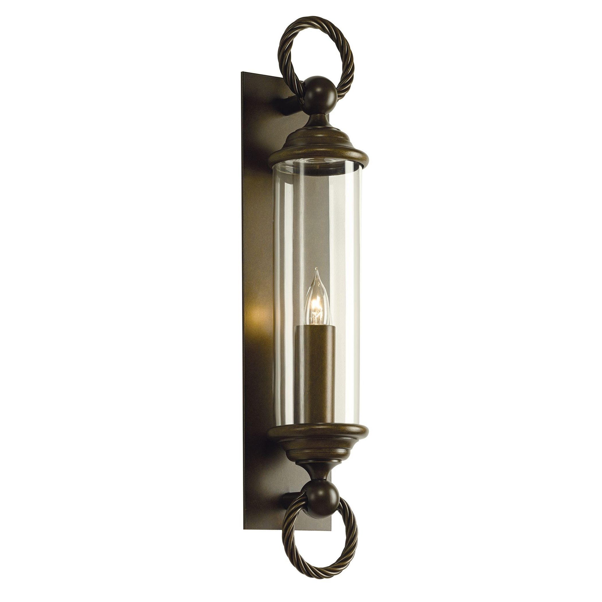 Large Outdoor Wall Lanterns Pertaining To 2019 Cavo Large Outdoor Wall Sconce – Hubbardton Forge (Gallery 7 of 20)