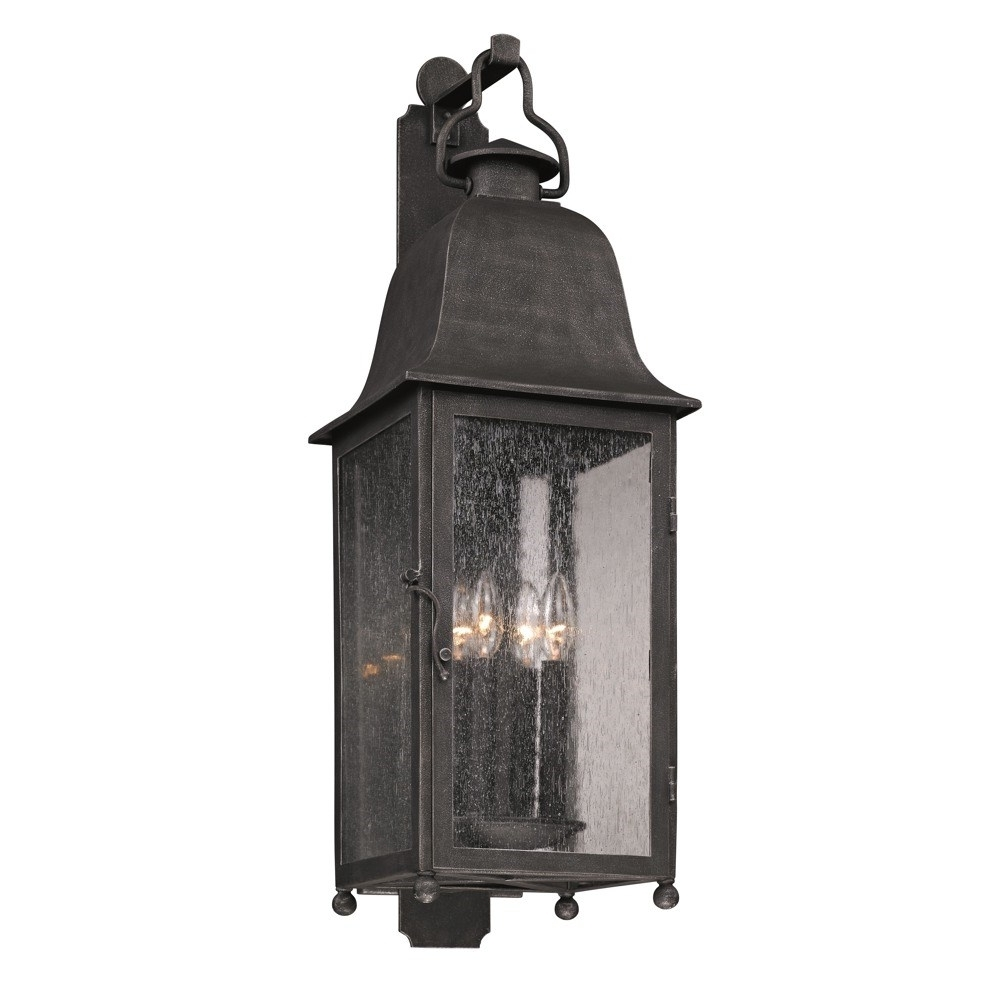 Large Outdoor Wall Light Extra Exterior Bronze Contemporary Lamps Intended For Recent Large Outdoor Wall Lanterns (View 5 of 20)