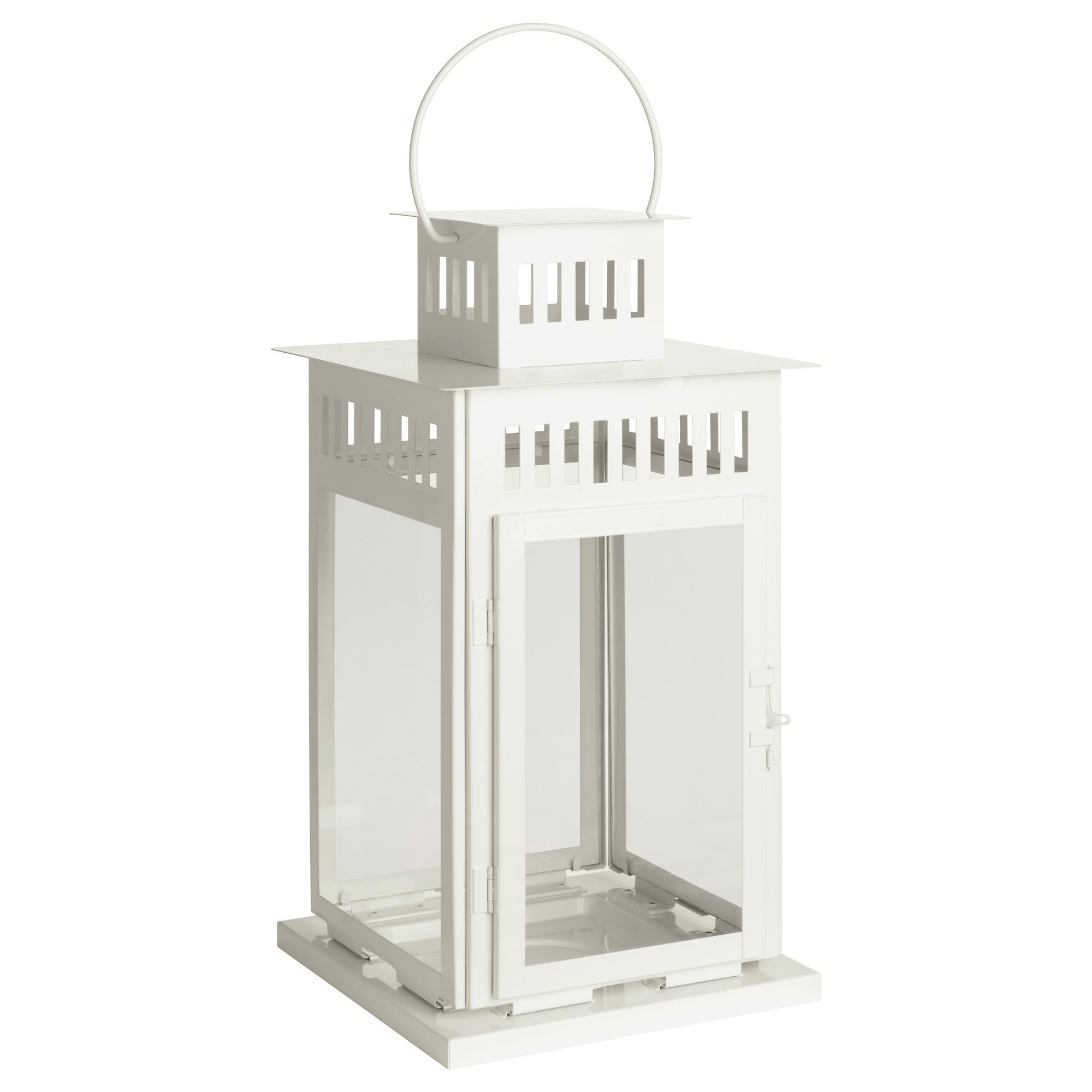 Latest Borrby Lantern For Block Candle – Ikea Pertaining To Vaughan Outdoor Lanterns (View 18 of 20)