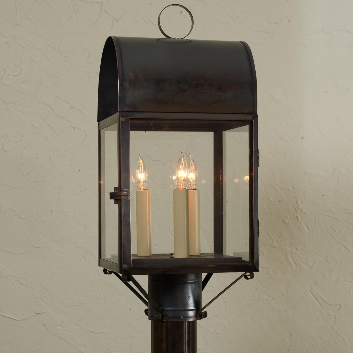 Latest Colonial Outdoor Lamp Posts All About House Design : Decorative Pertaining To Outdoor Lanterns For Posts (View 10 of 20)