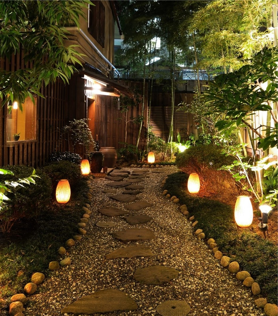 Latest Electric Outdoor Path Lights Outdoor Flower Bed Lighting Low Voltage Regarding Outdoor Low Voltage Lanterns (View 13 of 20)
