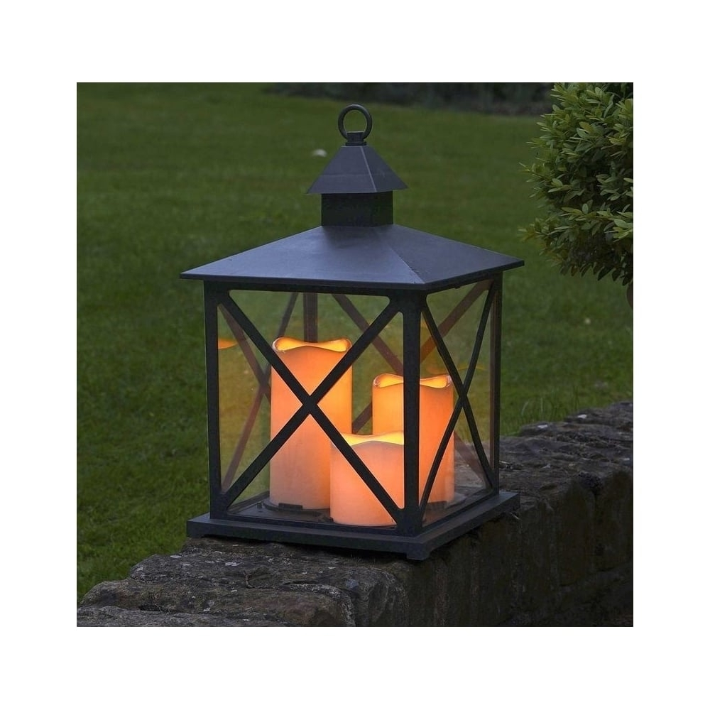 Latest Kentish Candle Lantern Battery Operated Smart Garden For Outdoor Lanterns With Battery Operated (View 8 of 20)