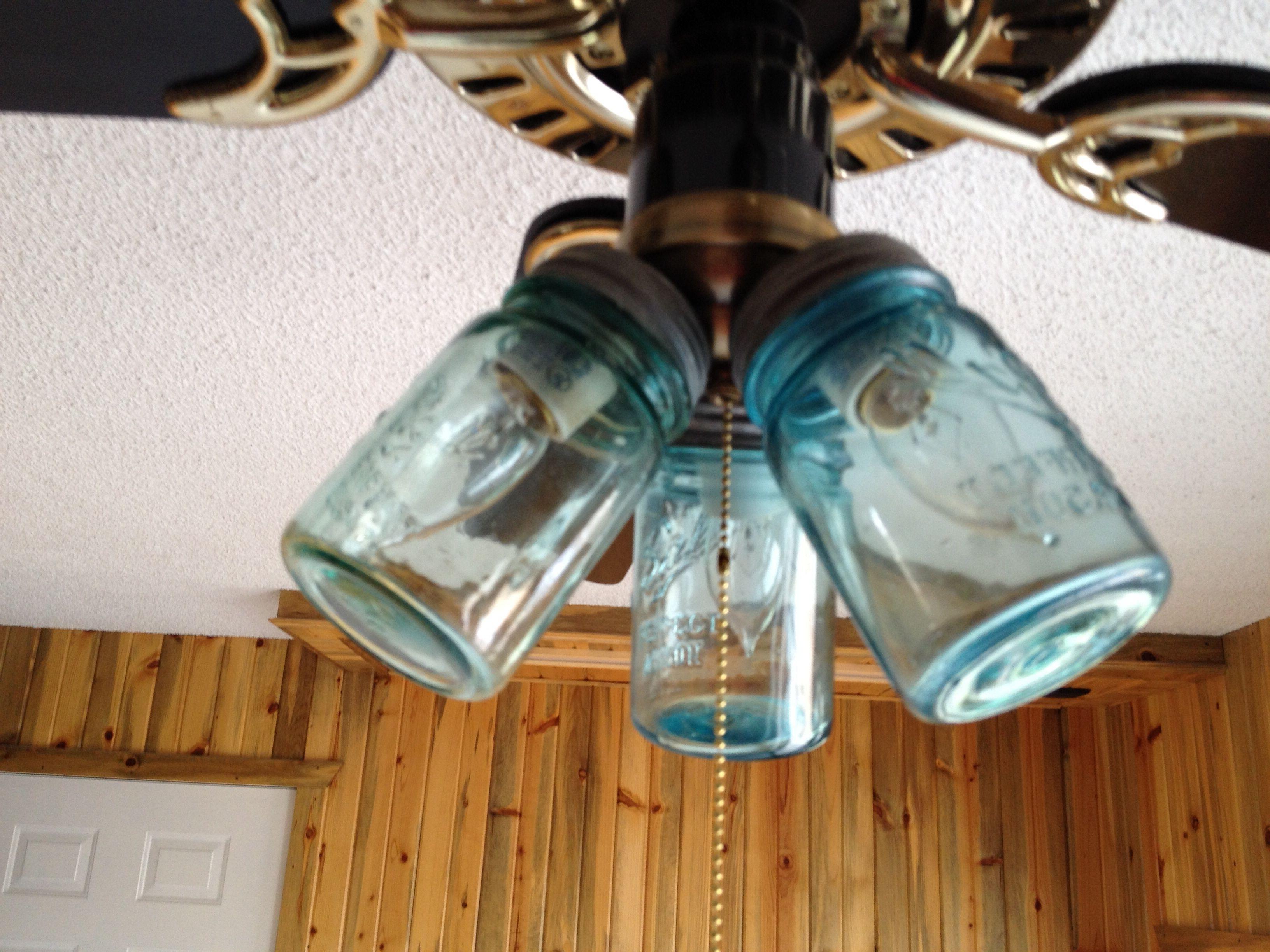 Latest Mason Jar Ceiling Fan Light Covers (View 9 of 20)