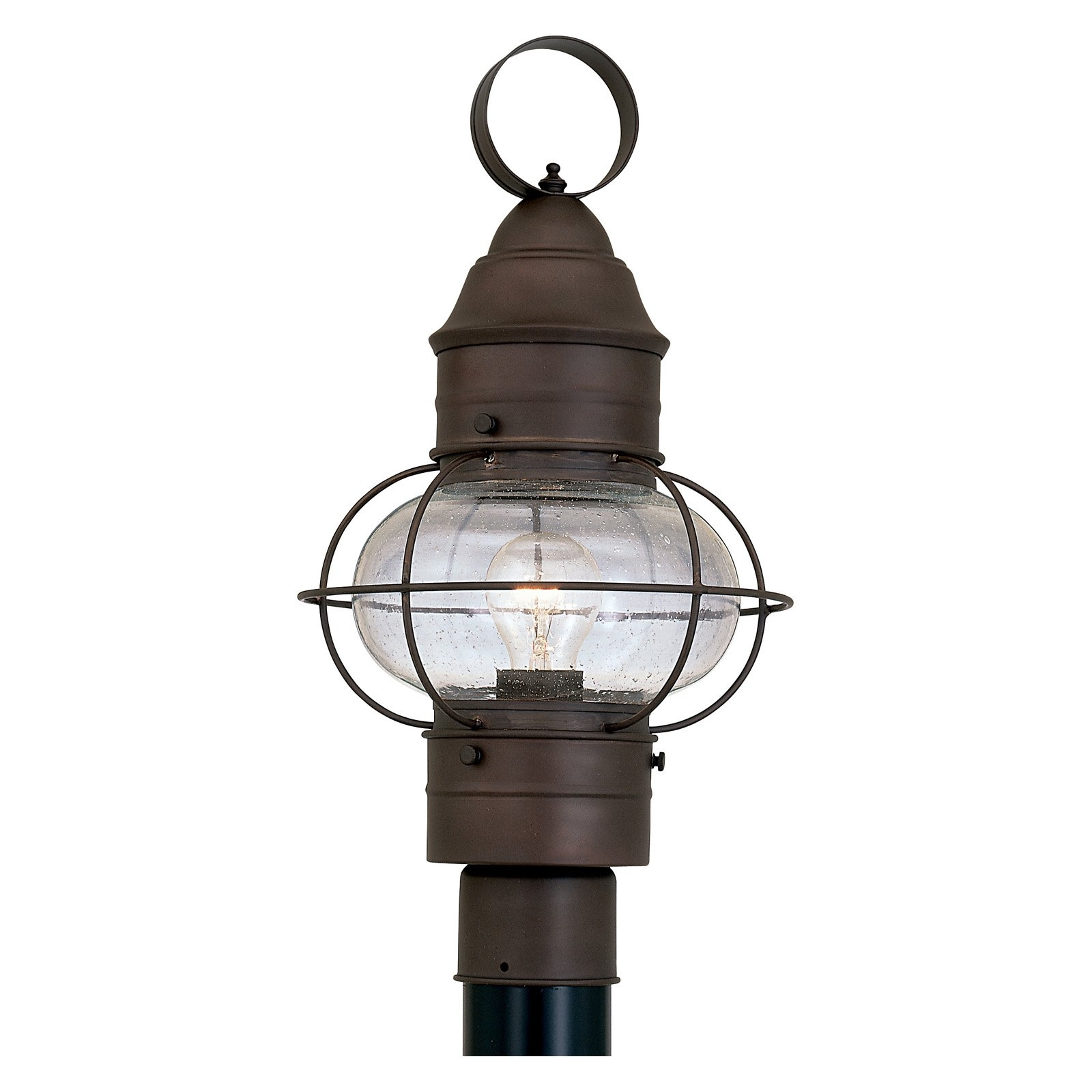 Latest Nantucket Outdoor Lanterns Within Designers Fountain Outdoor 1766 Rt Nantucket Post Lantern – Walmart (View 14 of 20)