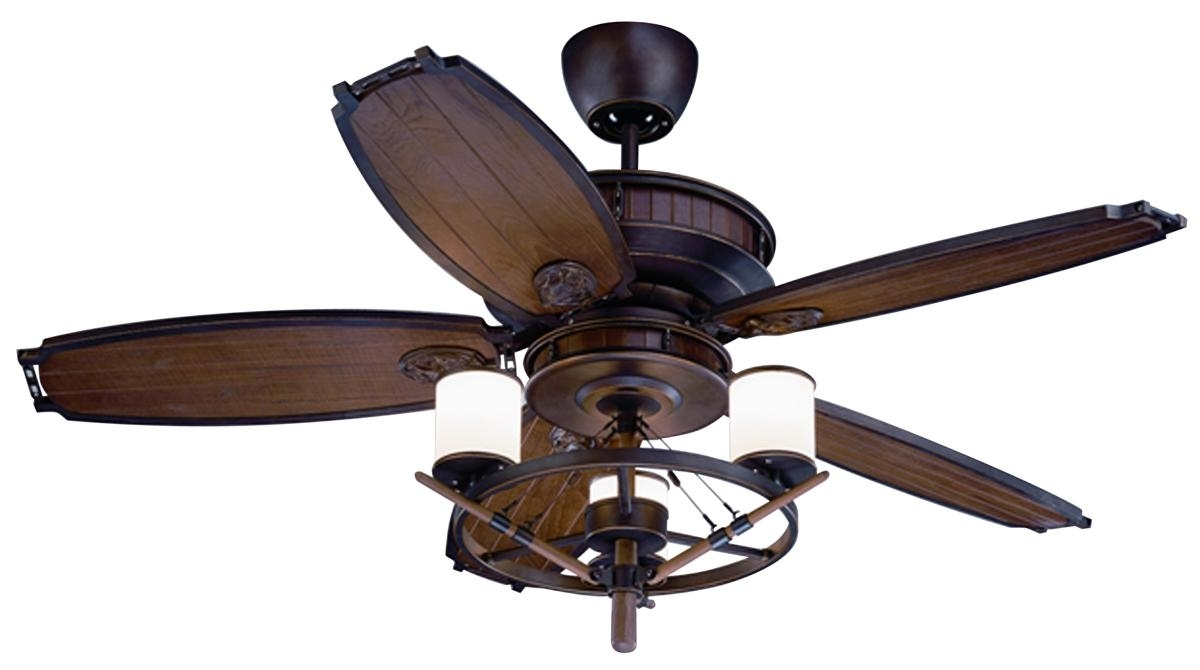 Latest Nautical Ceiling Fans – Design For Comfort Intended For Coastal Outdoor Ceiling Fans (View 7 of 20)