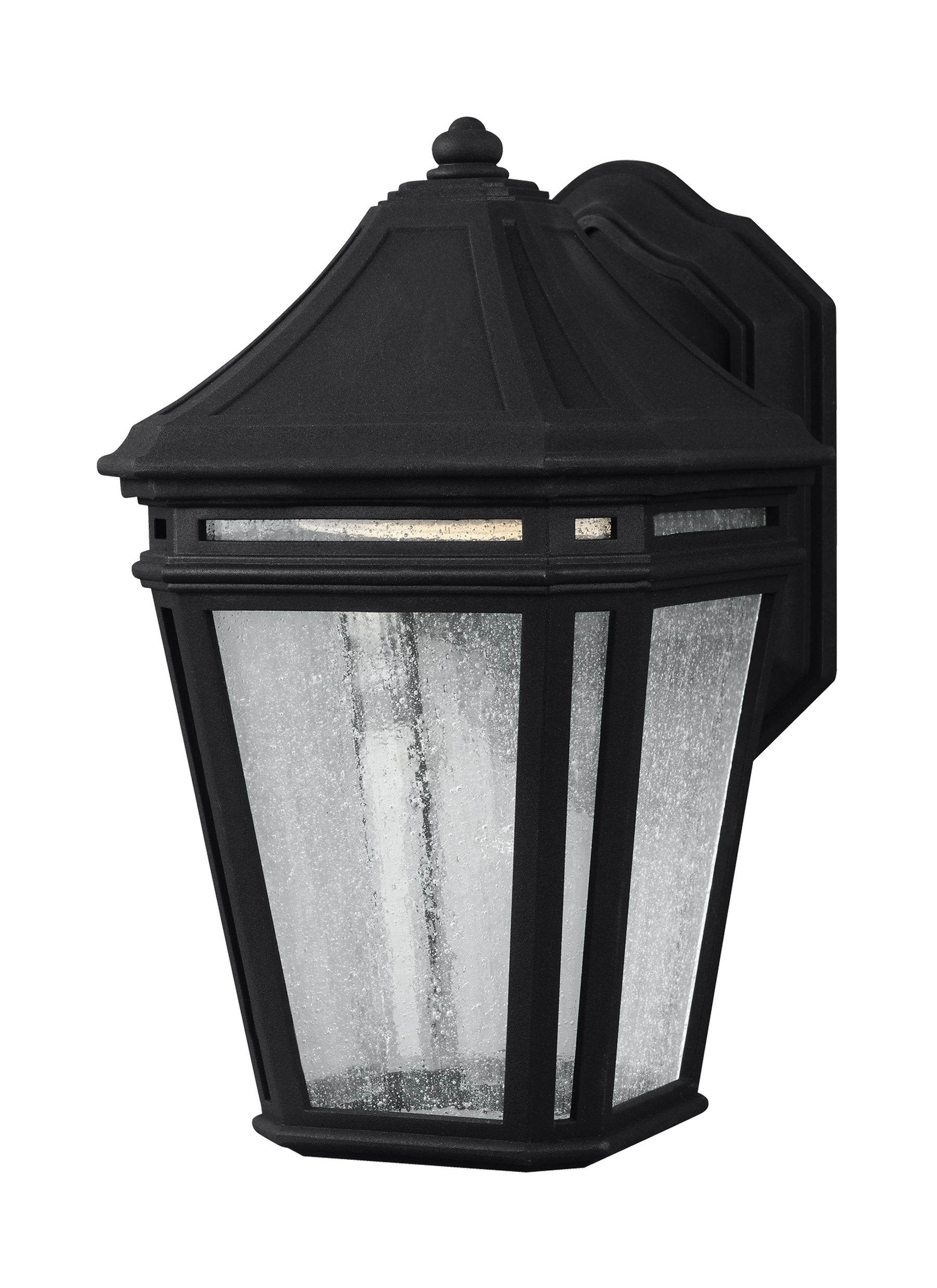 Latest Ol11300Bk Led,led Outdoor Sconce,black Inside Led Outdoor Lanterns (Gallery 8 of 20)
