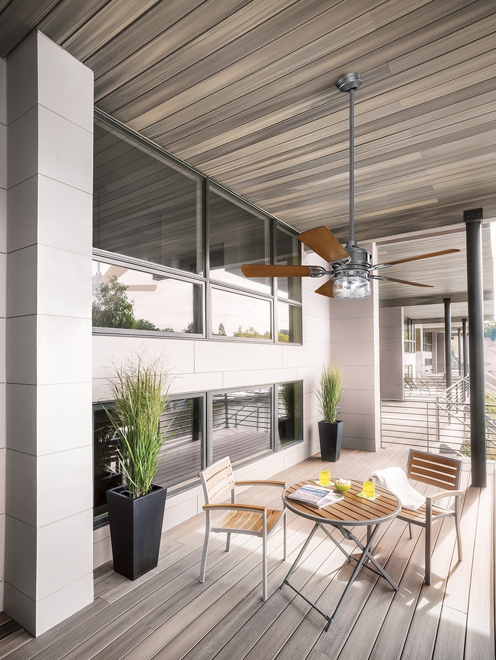 Latest Outdoor Ceiling Fans For Patios Inside Lyndon™ Patio Collection (View 9 of 20)
