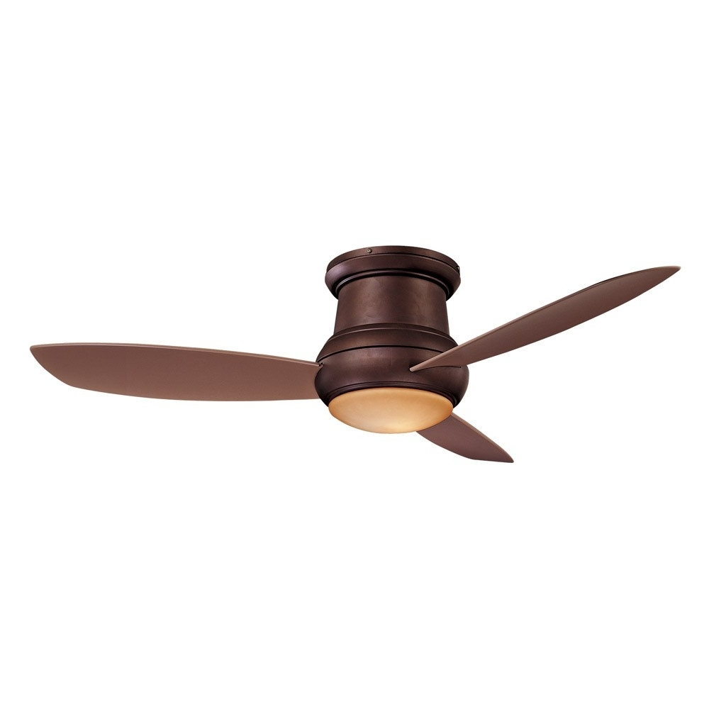 Latest Outdoor Ceiling Fans For Wet Areas Throughout Concept Ii Wet Ceiling Fanminka Aire – F474L Orb Oil Rubbed (View 4 of 20)