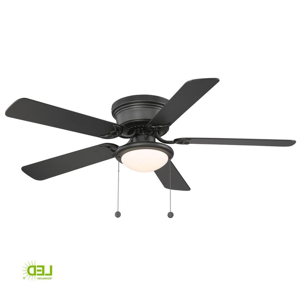 Latest Outdoor Ceiling Fans Under $75 In Hugger 52 In (View 6 of 20)