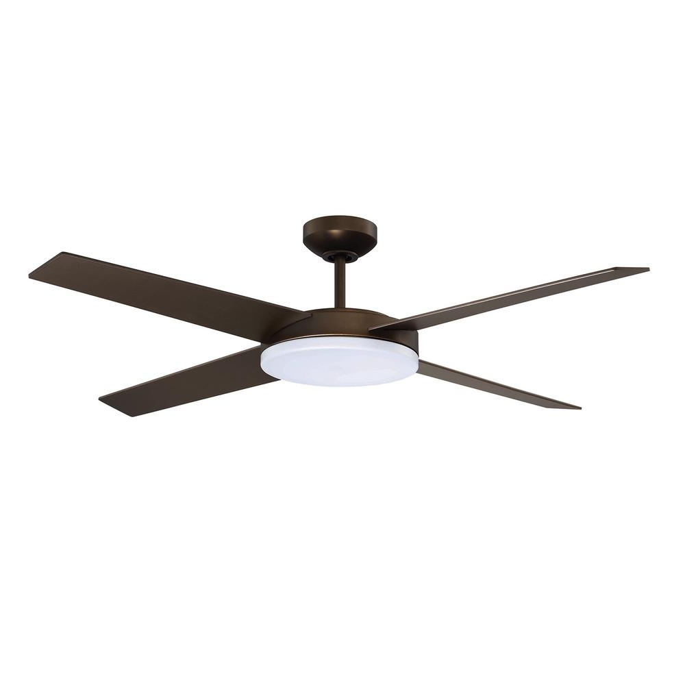 Latest Outdoor Ceiling Fans With Dc Motors Regarding Outdoor – Ceiling Fans With Lights – Ceiling Fans – The Home Depot (View 7 of 20)