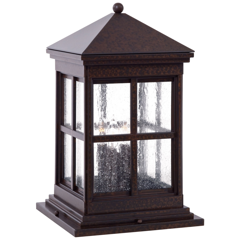 Latest Outdoor Pillar Lanterns Pertaining To Outdoor Solar Pedestal Lights – Outdoor Lighting Ideas (Gallery 4 of 20)