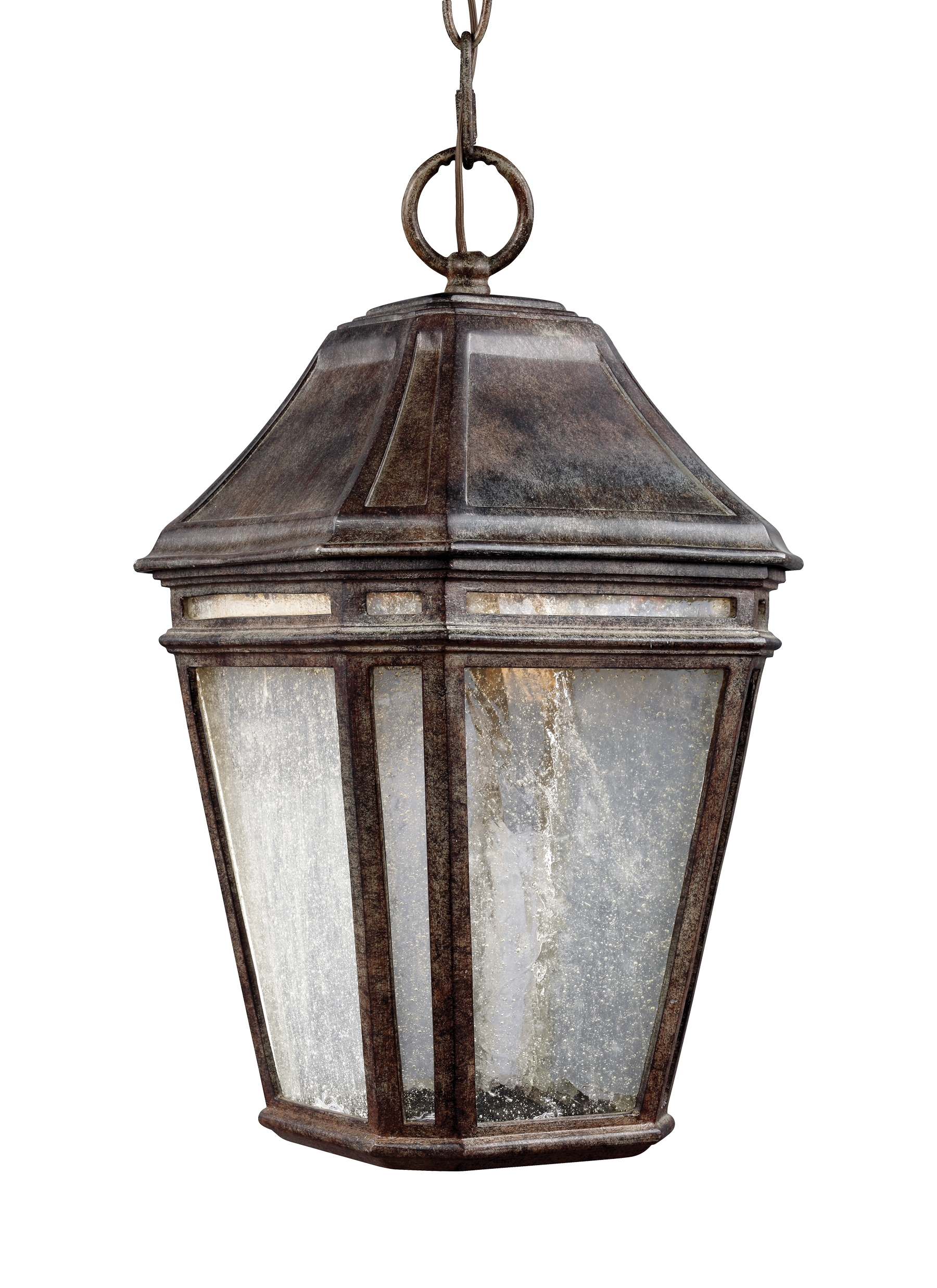 Led Outdoor Hanging Lanterns Pertaining To Recent Ol11309wct Led,led Outdoor Pendant,weathered Chestnut (View 9 of 20)