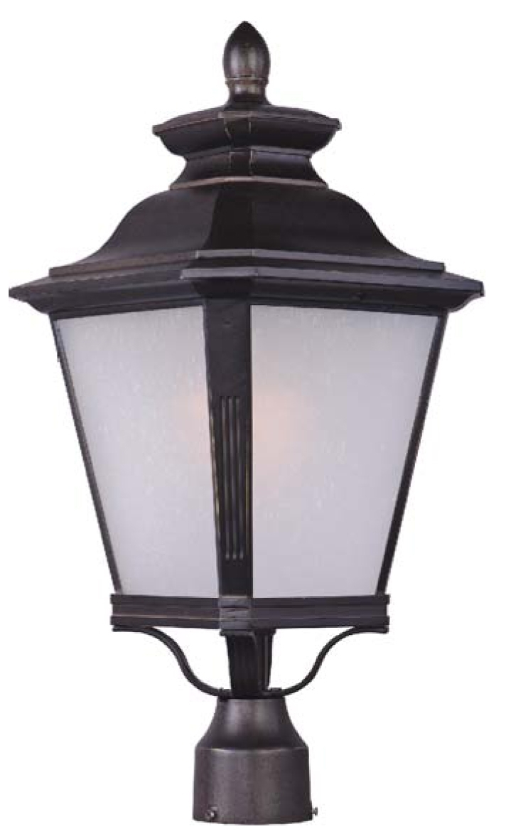 Led Outdoor Lanterns With Regard To Famous Knoxville Led Outdoor Post Lightmaxim Lighting (View 8 of 20)