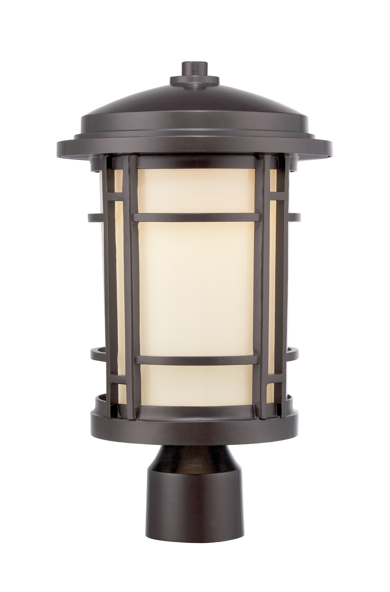 Led Outdoor Post Lights, Led – Lamps Expo In Current Outdoor Lanterns On Post (View 6 of 20)