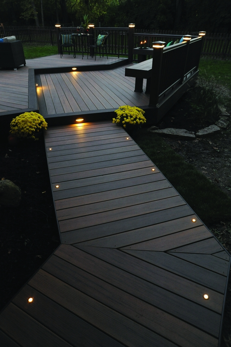 Lights, Backyard Throughout Preferred Outdoor Deck Lanterns (Gallery 8 of 20)