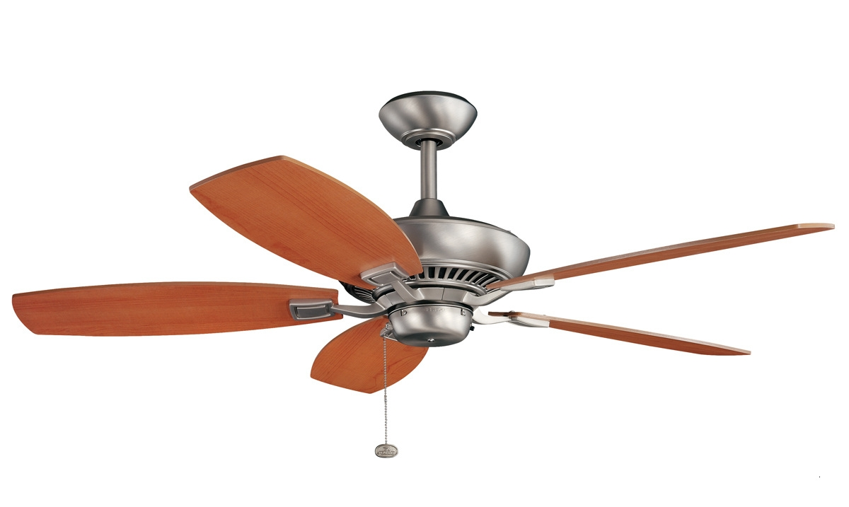 "Lowes Outdoor Ceiling Fans With Lights Beautiful 52"" Canfield Inside Favorite Outdoor Ceiling Fans With Lights At Lowes (View 7 of 20)"