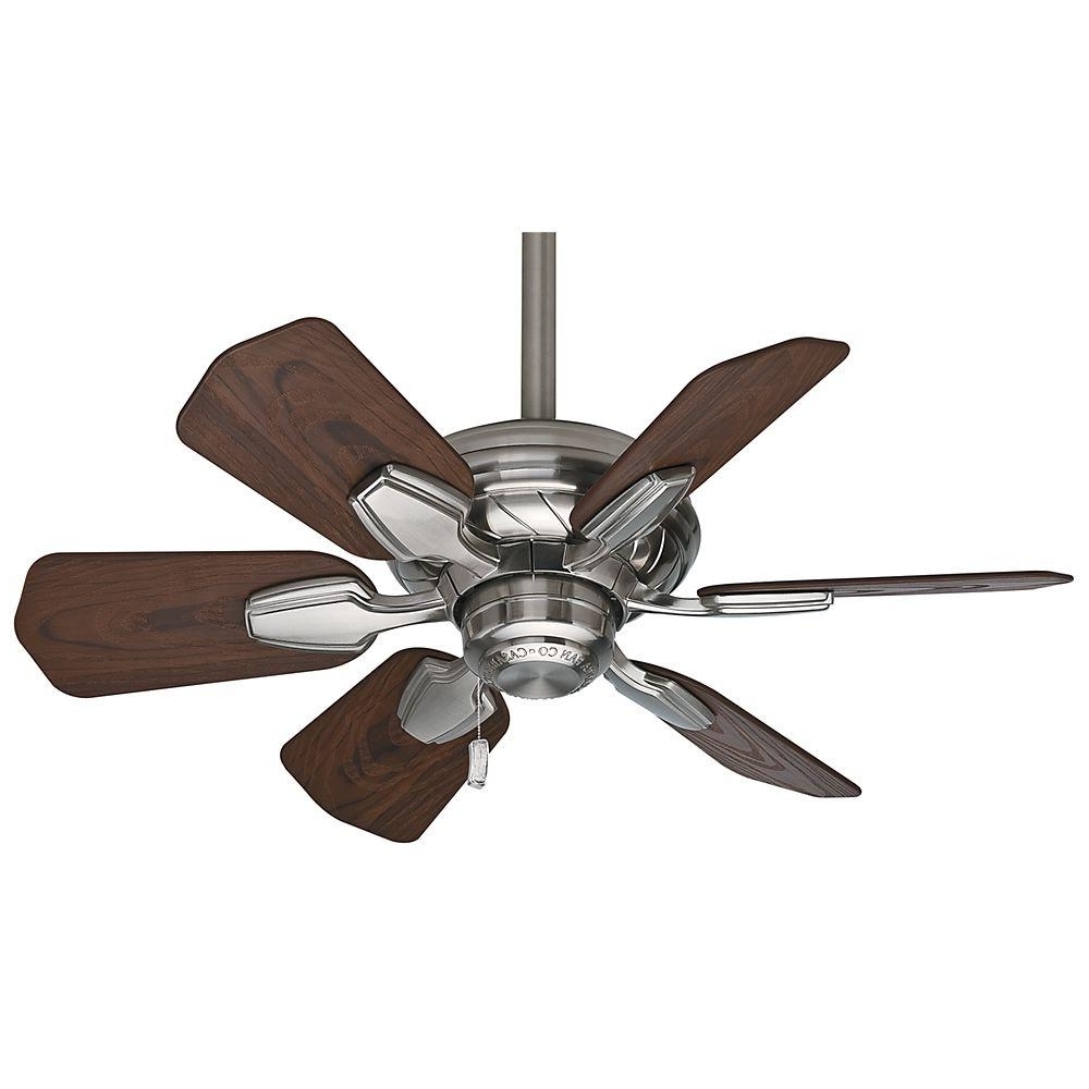 Lowes Outdoor Ceiling Fans With Lights Throughout Newest Brushed Nickel Outdoor Ceiling Fan With Light Best Lowes Ceiling (View 13 of 20)