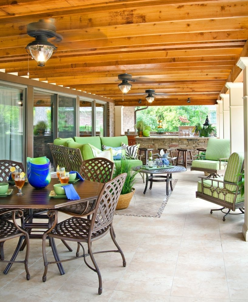 Lowes Outdoor Ceiling Fans With Lights With Traditional Patio Pertaining To Preferred Traditional Outdoor Ceiling Fans (View 20 of 20)