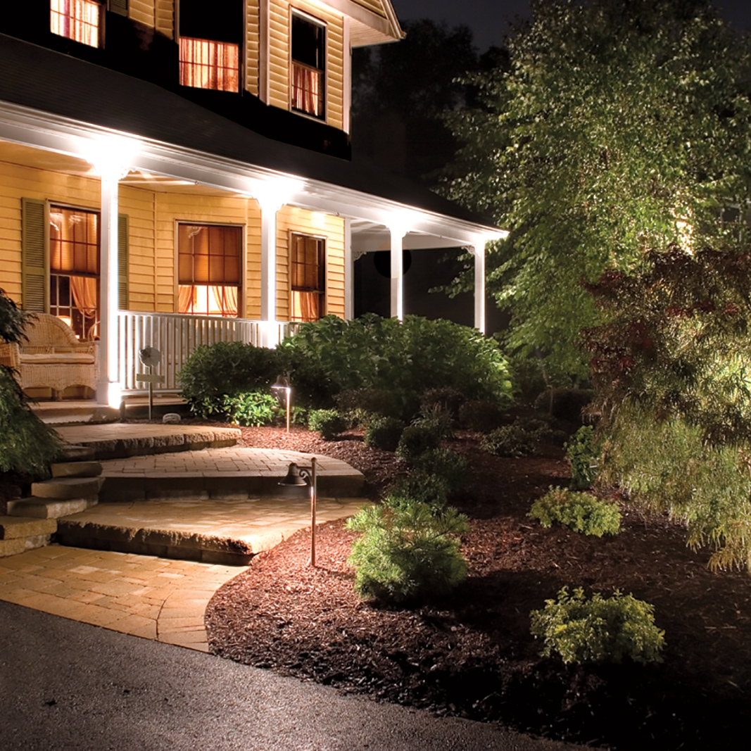 Lowes Outdoor Lighting White — Awesome House Lighting : Gorgeous Inside Most Up To Date Outdoor Landscape Lanterns (View 7 of 20)
