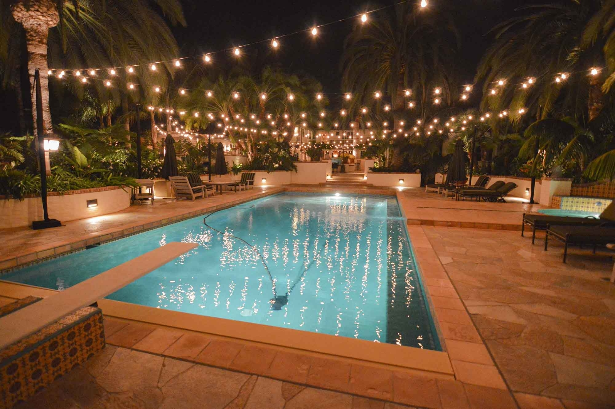 Market Lights, Party, Globe & Patio String Lights Outdoor For Most Popular Outdoor Pool Lanterns (View 16 of 20)