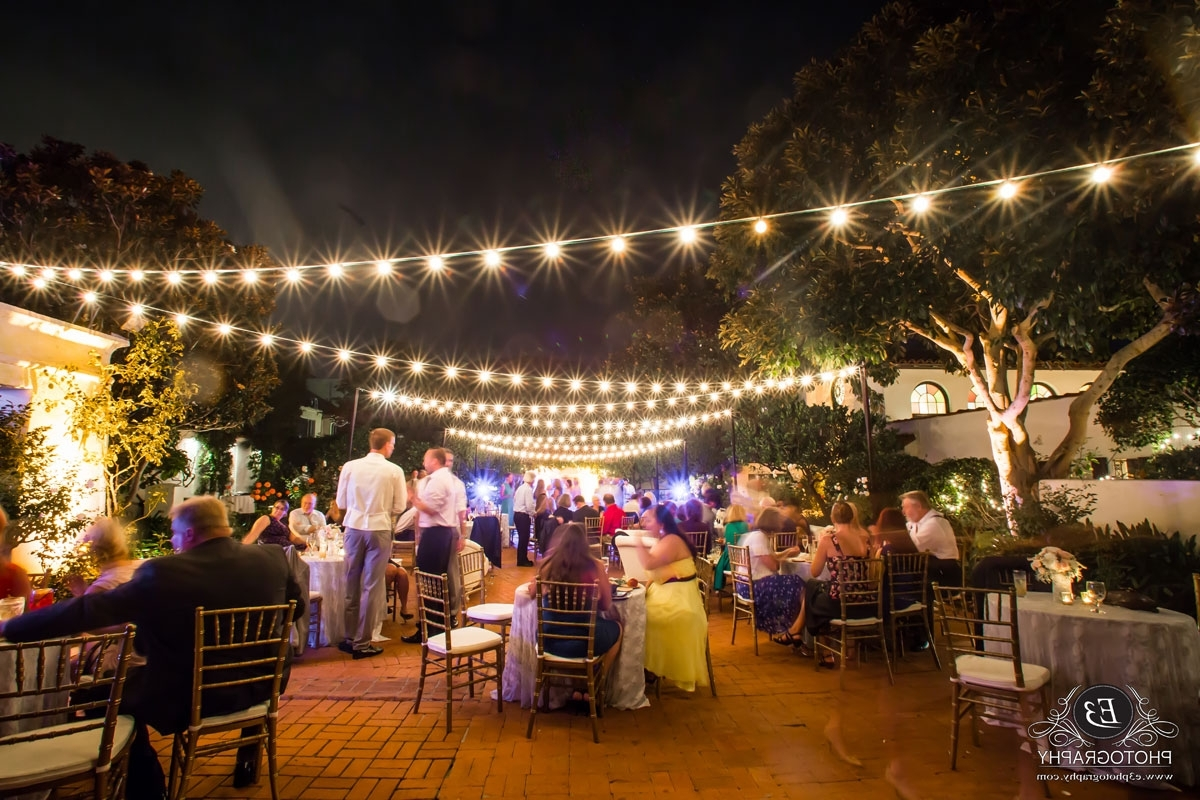 Market Lights / String Lights Pertaining To Fashionable Outdoor Lanterns For Wedding (View 8 of 20)