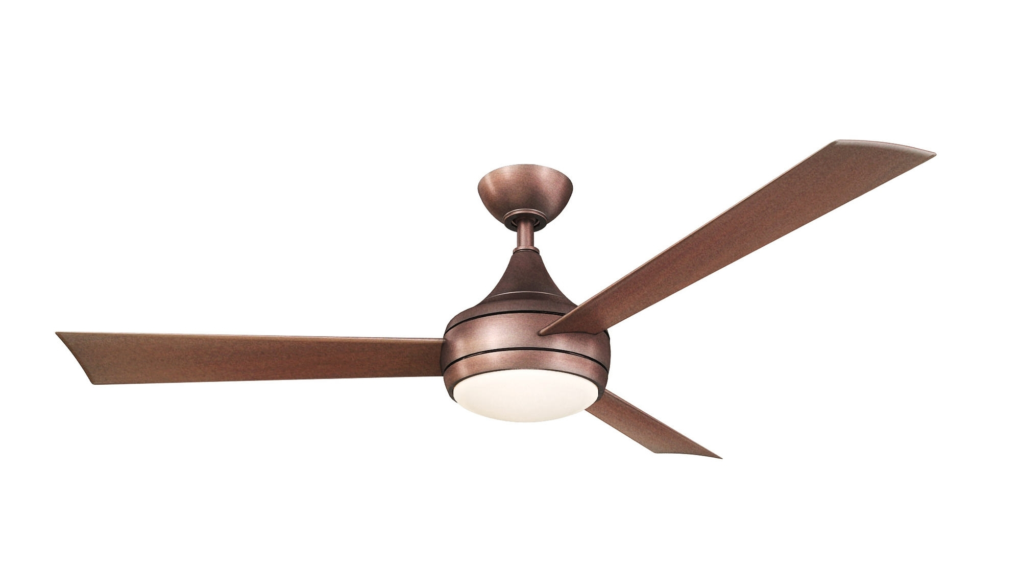 Matthews Atlas Donaire Outdoor Wet Location Ceiling Fan With Led With Regard To Preferred Metal Outdoor Ceiling Fans With Light (View 6 of 20)