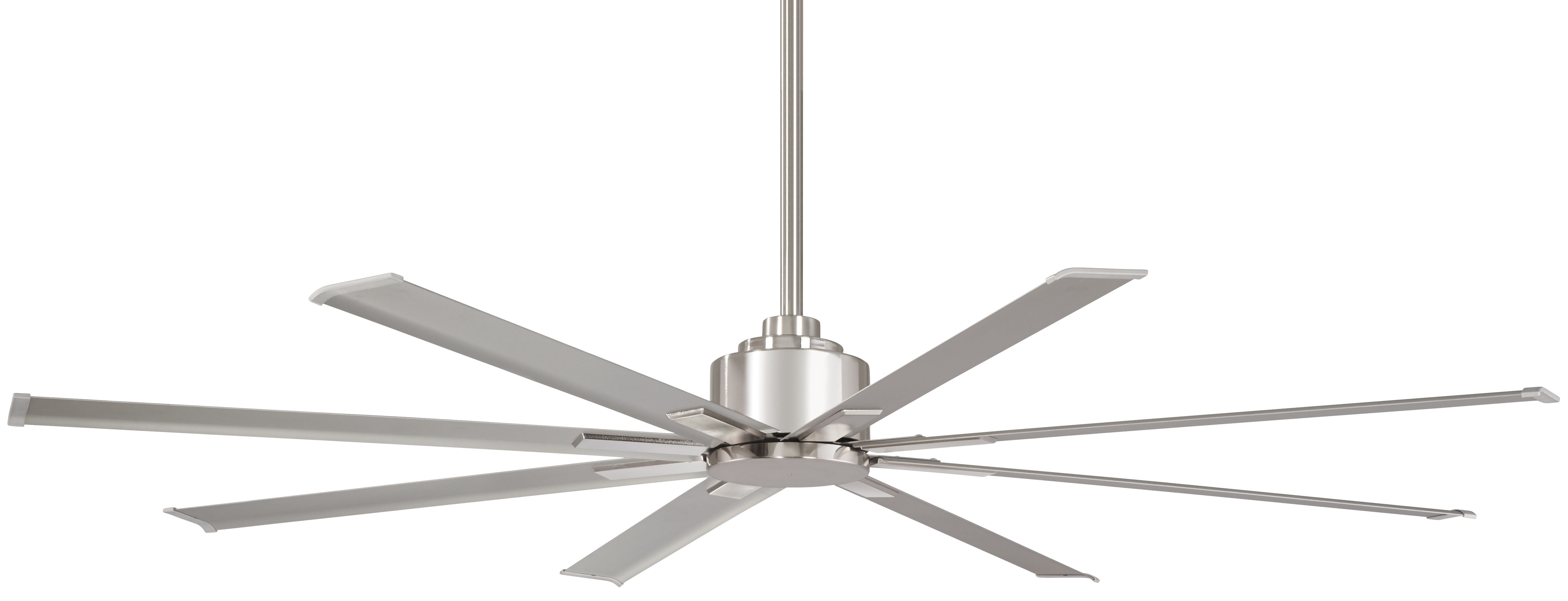 """Minka Aire 65"""" Xtreme 8 Blade Outdoor Ceiling Fan With Remote Within Fashionable Metal Outdoor Ceiling Fans With Light (View 3 of 20)"""