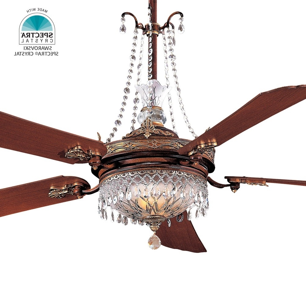 """Minka Aire Cristafano Ceiling Fan F900 Bcw 68"""" Fan Including Gc900 With Popular Victorian Outdoor Ceiling Fans (View 5 of 20)"""