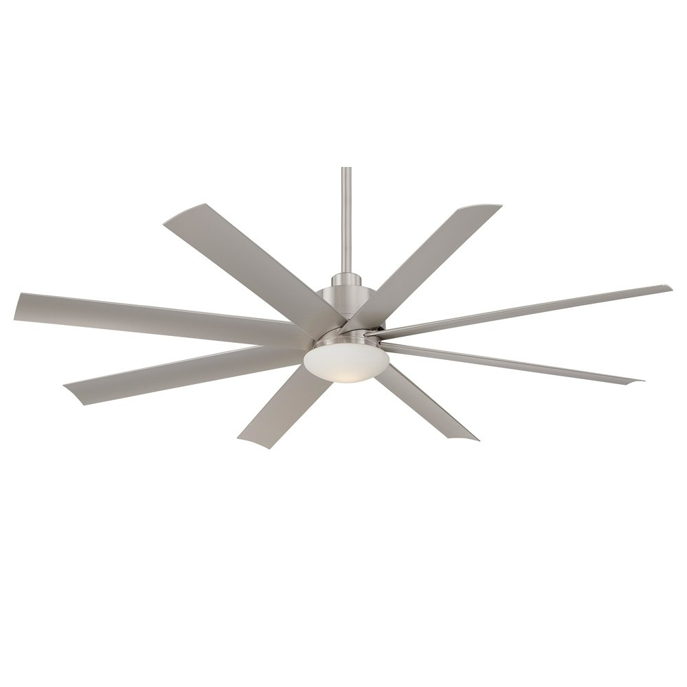 Minka Aire Slipstream Ceiling Fan – 65 Inch Fan With Eight Blades Pertaining To Famous Contemporary Outdoor Ceiling Fans (View 15 of 20)