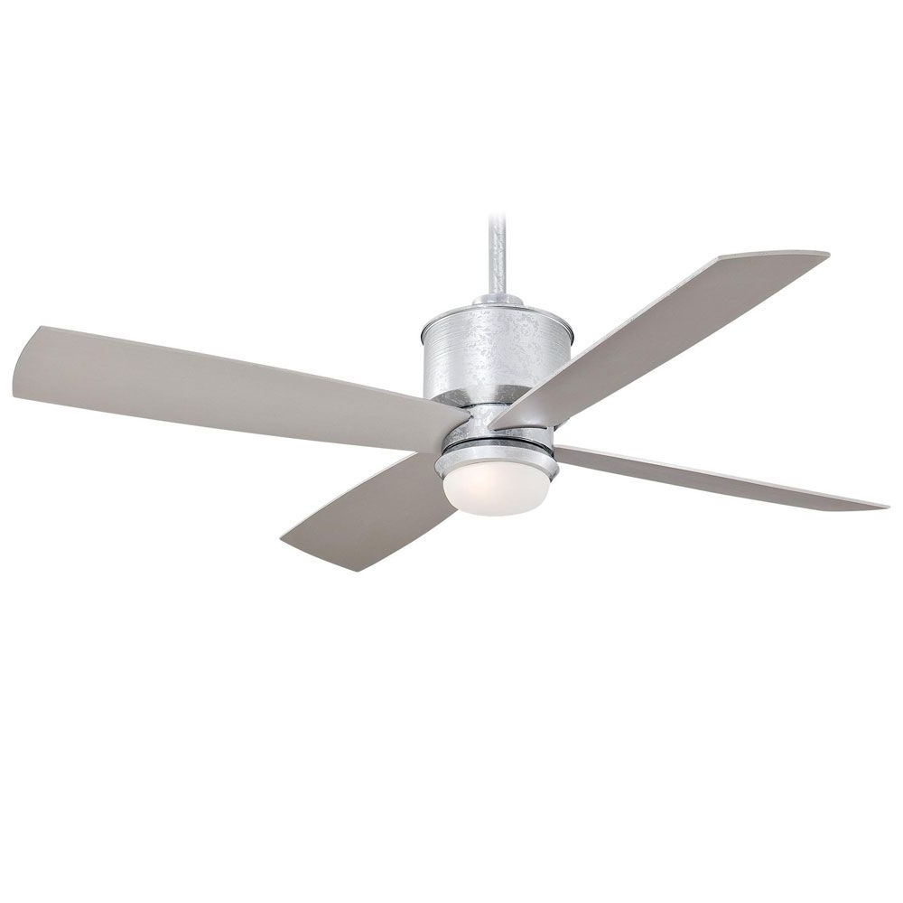 Minka Aire Strata Ceiling Fan In Galvanized (View 3 of 20)