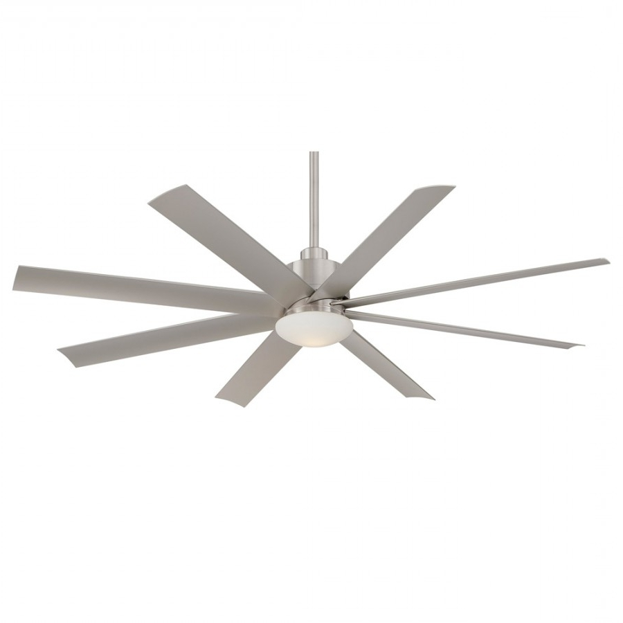 Modern Outdoor Ceiling Fans Pertaining To Recent Minka Ceiling Fan 65 Inch Slipstream – 3 Finishes, F888 Orb, F (View 6 of 20)