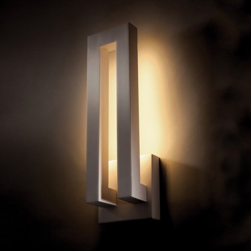 Modern Outdoor Sconce Led Lights Decorations Wall Lighting Sconces Regarding Fashionable Modern Outdoor Lanterns (View 8 of 20)