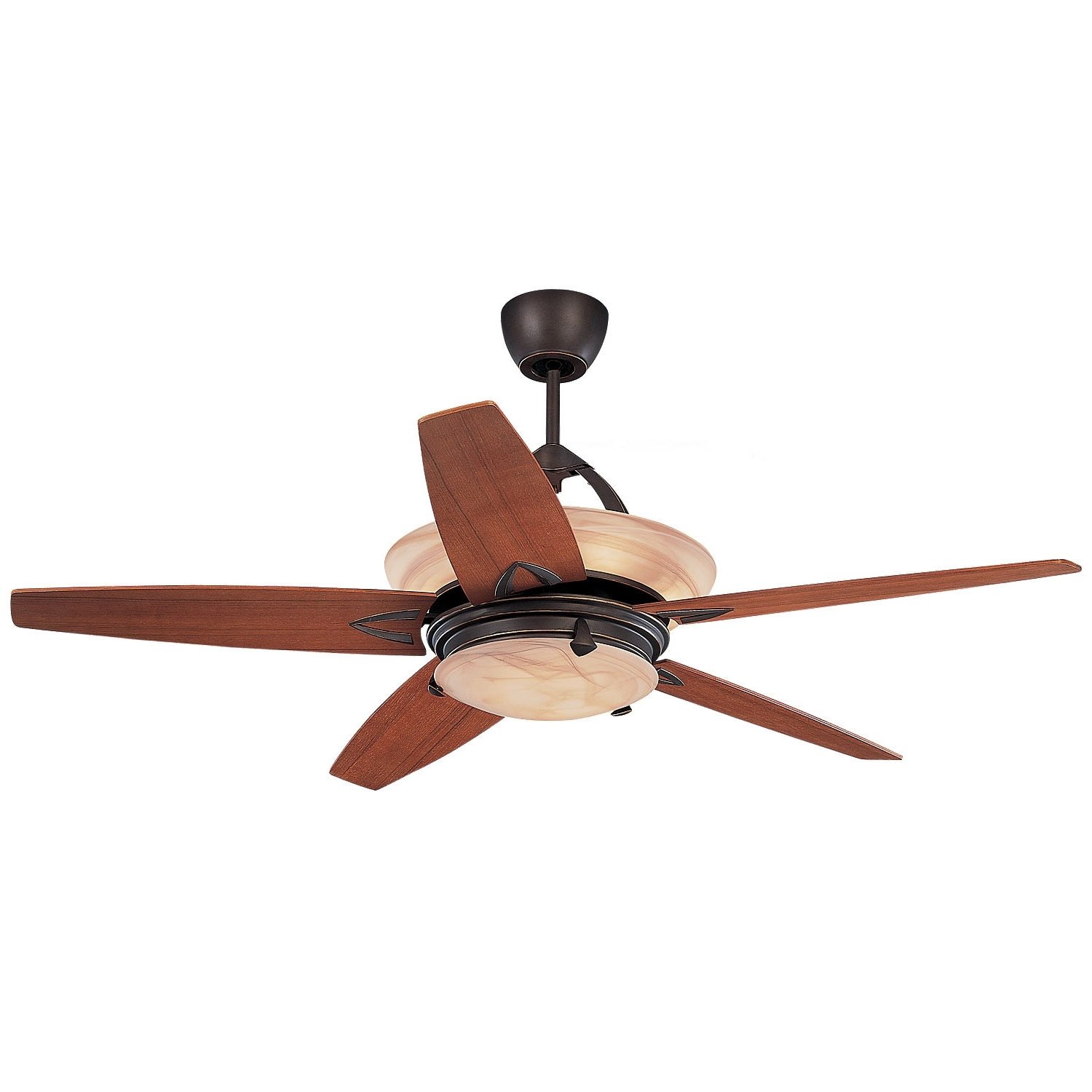 Monte Carlo Arch Roman Bronze 60 Inch Ceiling Fan With Remote Within Famous Outdoor Ceiling Fans With Uplights (View 13 of 20)
