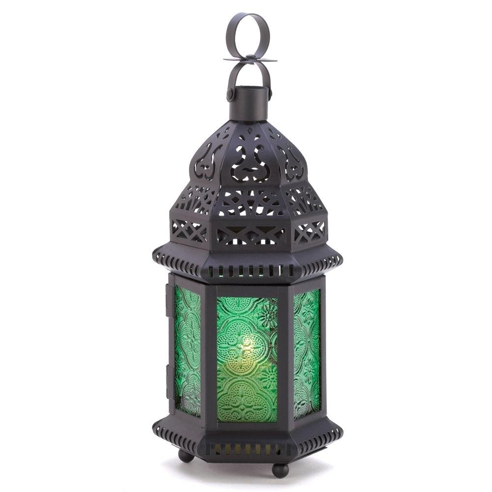 Moroccan Lantern Lights, Metal Frame Decorative Candle Lanterns With Regard To Trendy Outdoor Indian Lanterns (View 5 of 20)