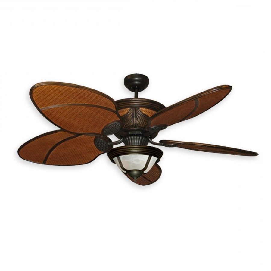 Moroccan Rattan Ceiling Fan Regarding Famous Craftsman Outdoor Ceiling Fans (View 14 of 20)