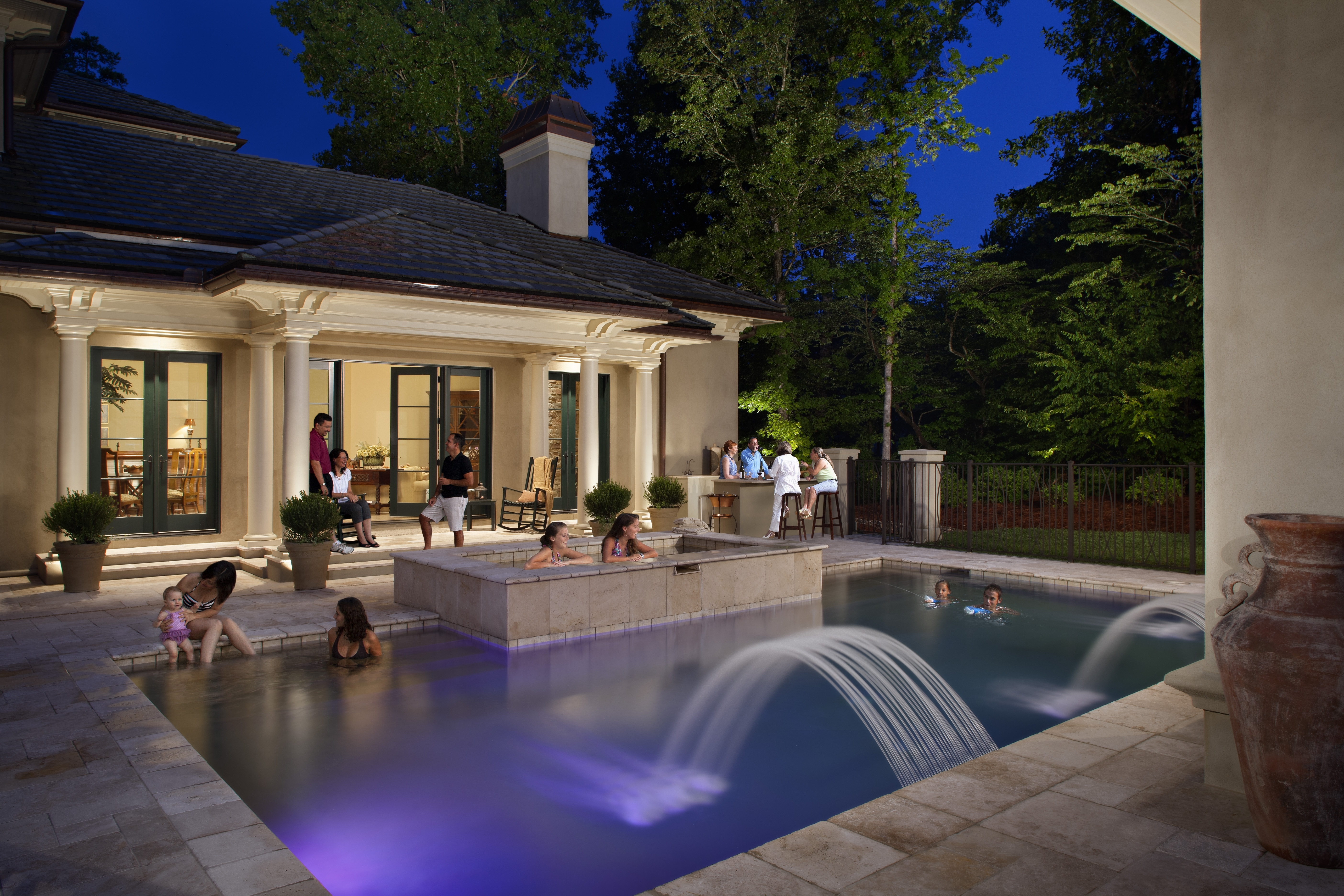 Most Current 33 Wonderful Ideas Outdoor Pool Lanterns Lighting I Qtsi Co Swimming With Regard To Outdoor Pool Lanterns (View 5 of 20)