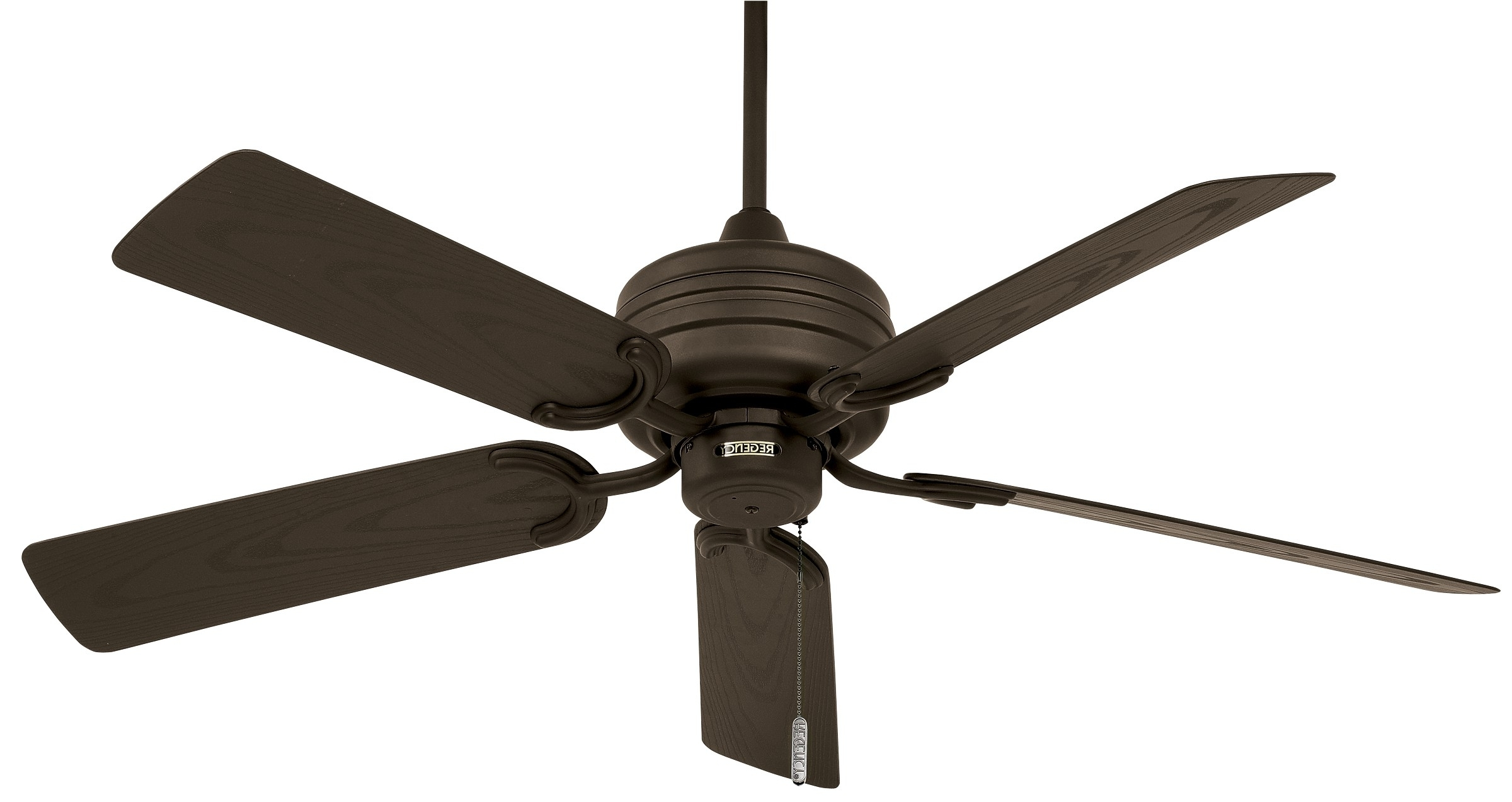 Most Current Bronze Outdoor Ceiling Fans Regarding Tropic Air™ Outdoor (wet Location / Motor Only) (View 18 of 20)