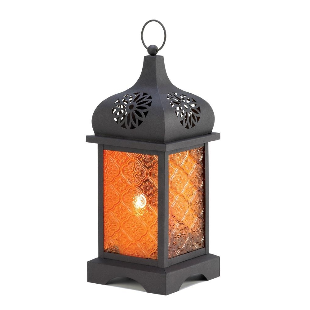 Most Current Candle Lanterns Decorative Patio Candle Lanterns, Antique Candle For Outdoor Orange Lanterns (View 7 of 20)