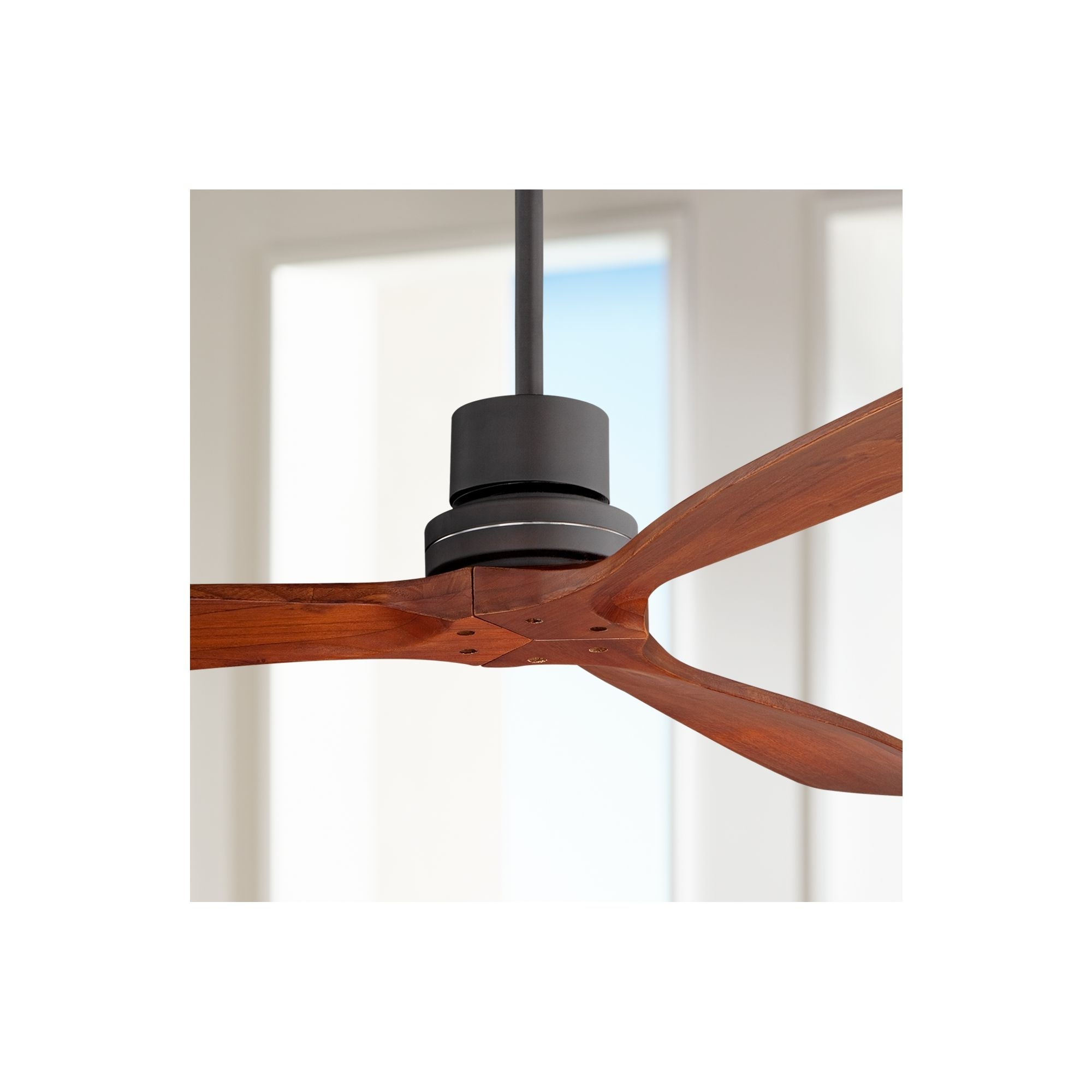 "Most Current Casa Vieja 52"" Casa Delta Wing™ Bronze Outdoor Ceiling Fan Within Casa Vieja Outdoor Ceiling Fans (View 13 of 20)"