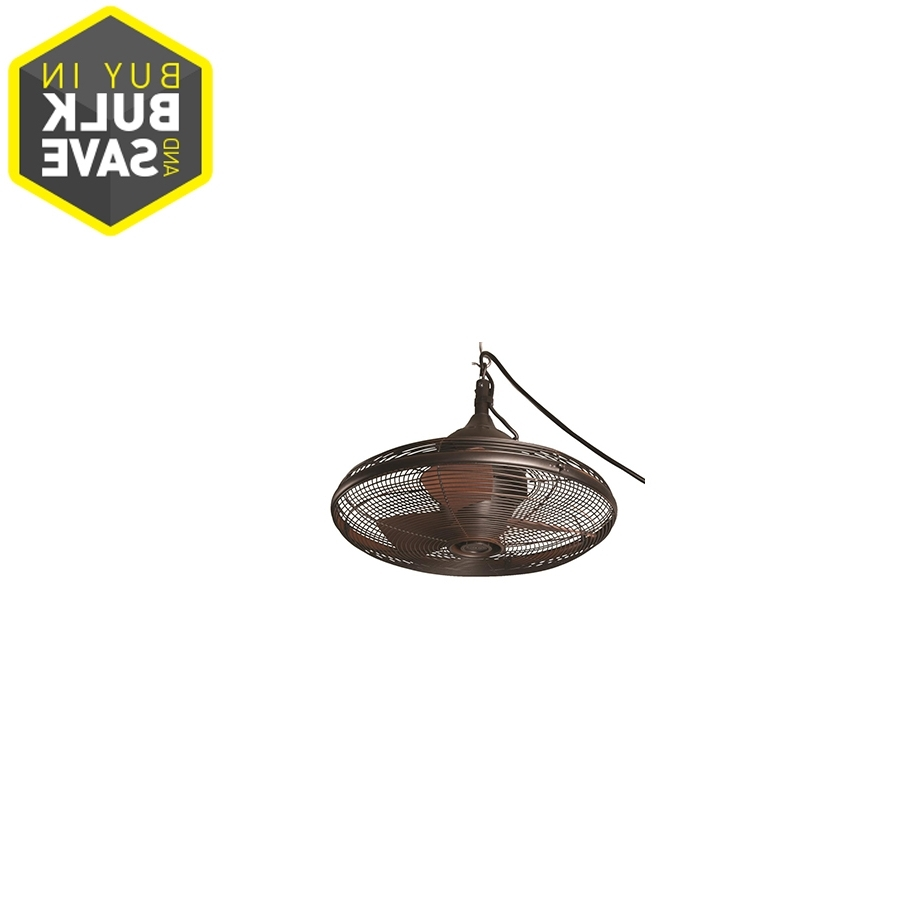 Most Current Enclosed Outdoor Ceiling Fans Regarding Shop Lighting & Ceiling Fans At Lowes (View 12 of 20)