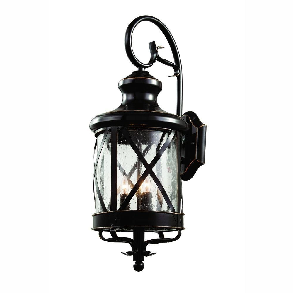 Most Current Gold Coast Outdoor Lanterns Intended For Bel Air Lighting Carriage House 3 Light Oiled Bronze Outdoor Coach (View 7 of 20)