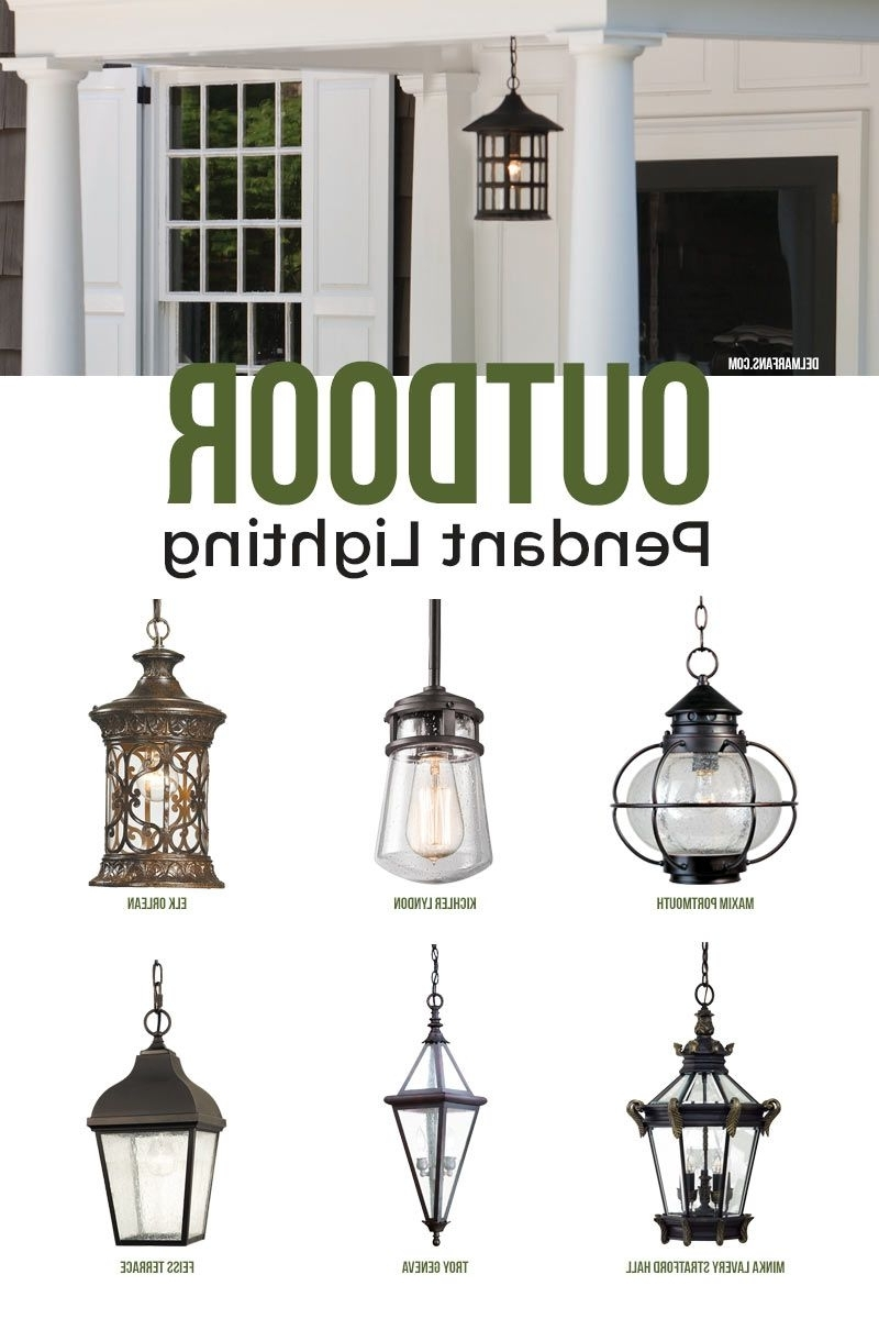 Most Current Gold Coast Outdoor Lanterns Within Outdoor Pendant Lighting, Commonly Called A Hanging Porch Lantern (View 6 of 20)