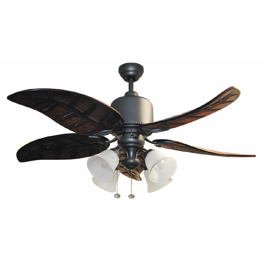 Most Current Harbor Breeze Outdoor Ceiling Fans With Lights Pertaining To Amazing Harbor Breeze Bronze Incandescent Ceiling Fan Light Kit Shop (View 12 of 20)