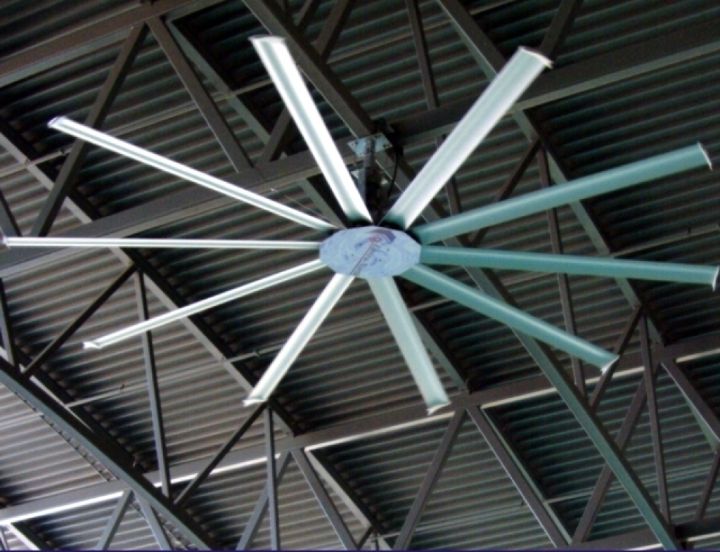 Most Current Industrial Outdoor Ceiling Fans For Home Design : Ceiling Fan Industrial Fans With Light Style Vintage (View 14 of 20)