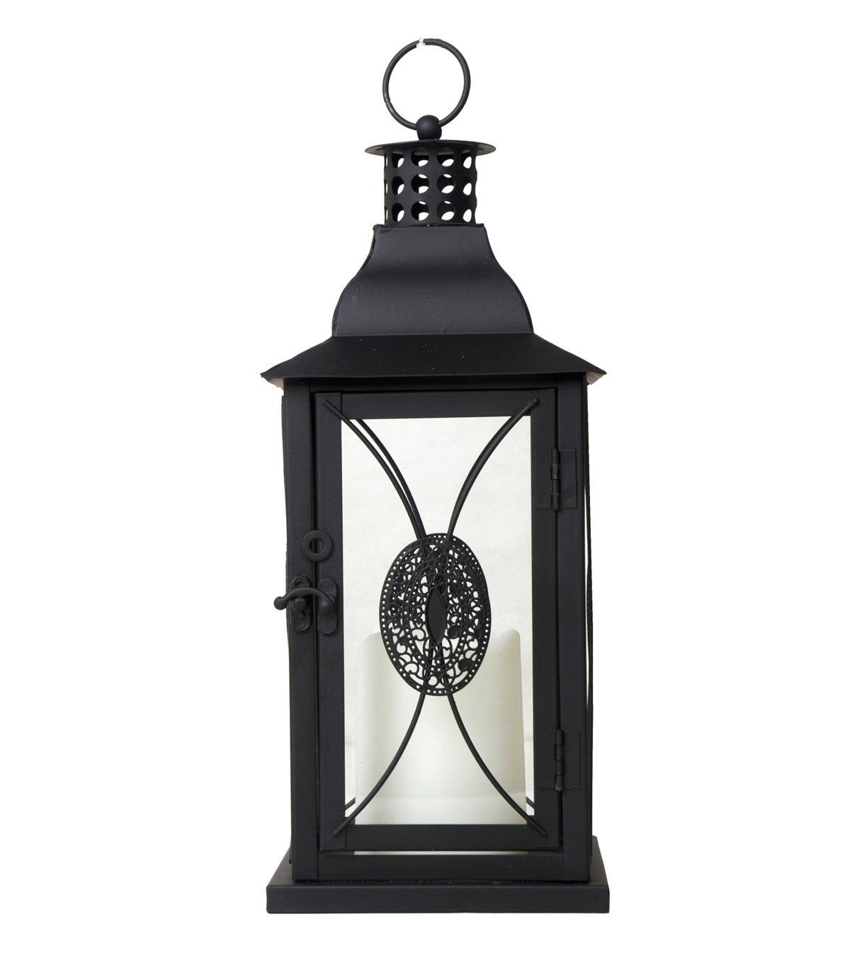 Most Current Joanns Outdoor Lanterns Pertaining To Floral Lantern (View 5 of 20)