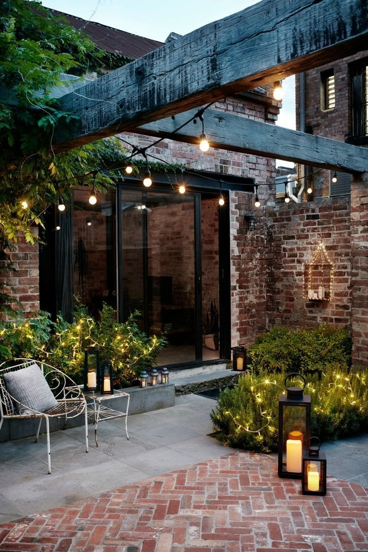 Most Current Masterly Solar Patio Deck Lighting Bass Patio Lights Palm Tree Patio Pertaining To Outdoor Yard Lanterns (View 13 of 20)
