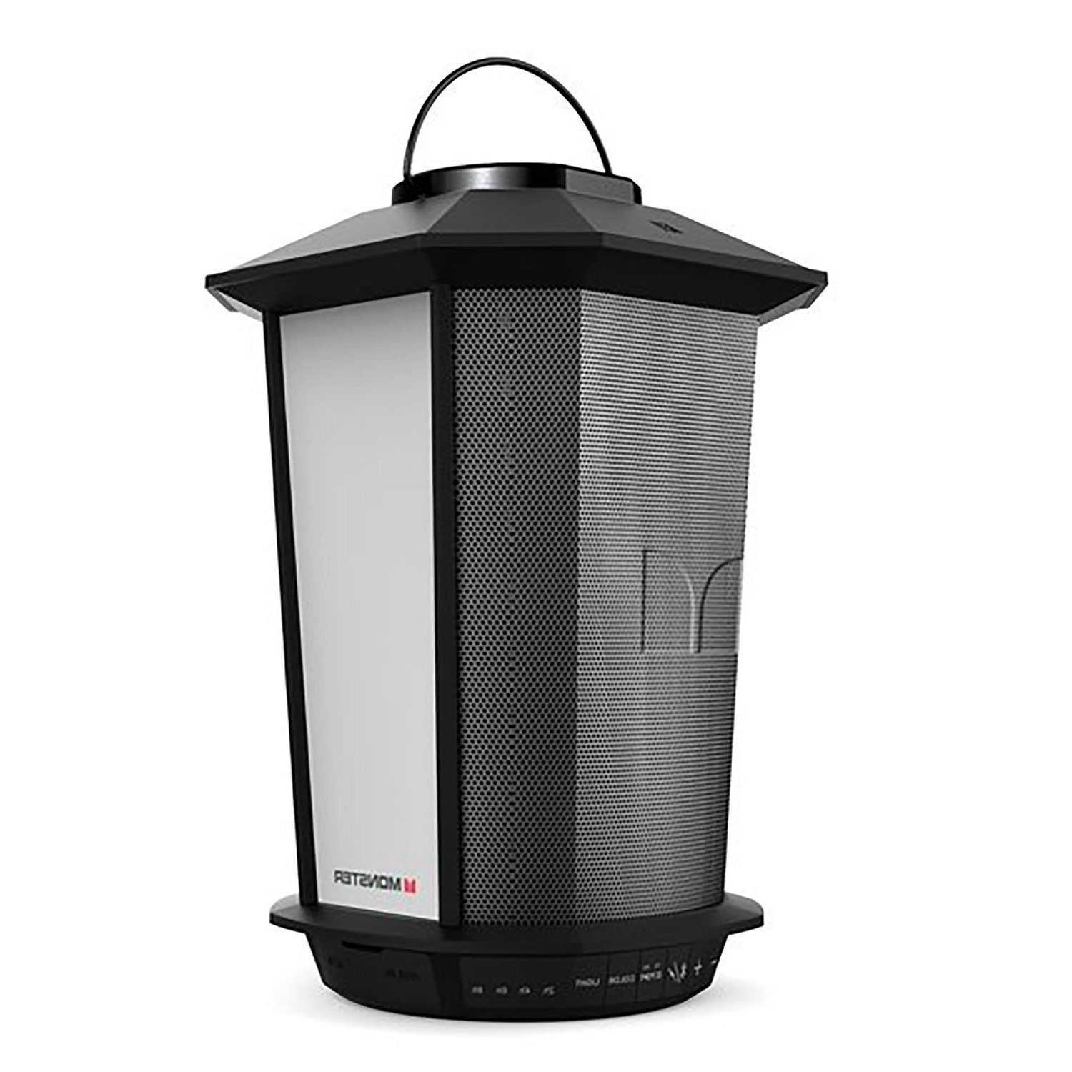 Most Current Monster Glo Bluetooth Wireless Weather Resistant Lantern Speaker Regarding Outdoor Weather Resistant Lanterns (View 6 of 20)