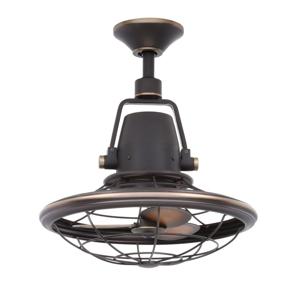 Most Current Outdoor Ceiling Fans With Cage Intended For Outdoor: Home Depot Outdoor Fans For Cooling Breezes — Aasp Us (View 7 of 20)