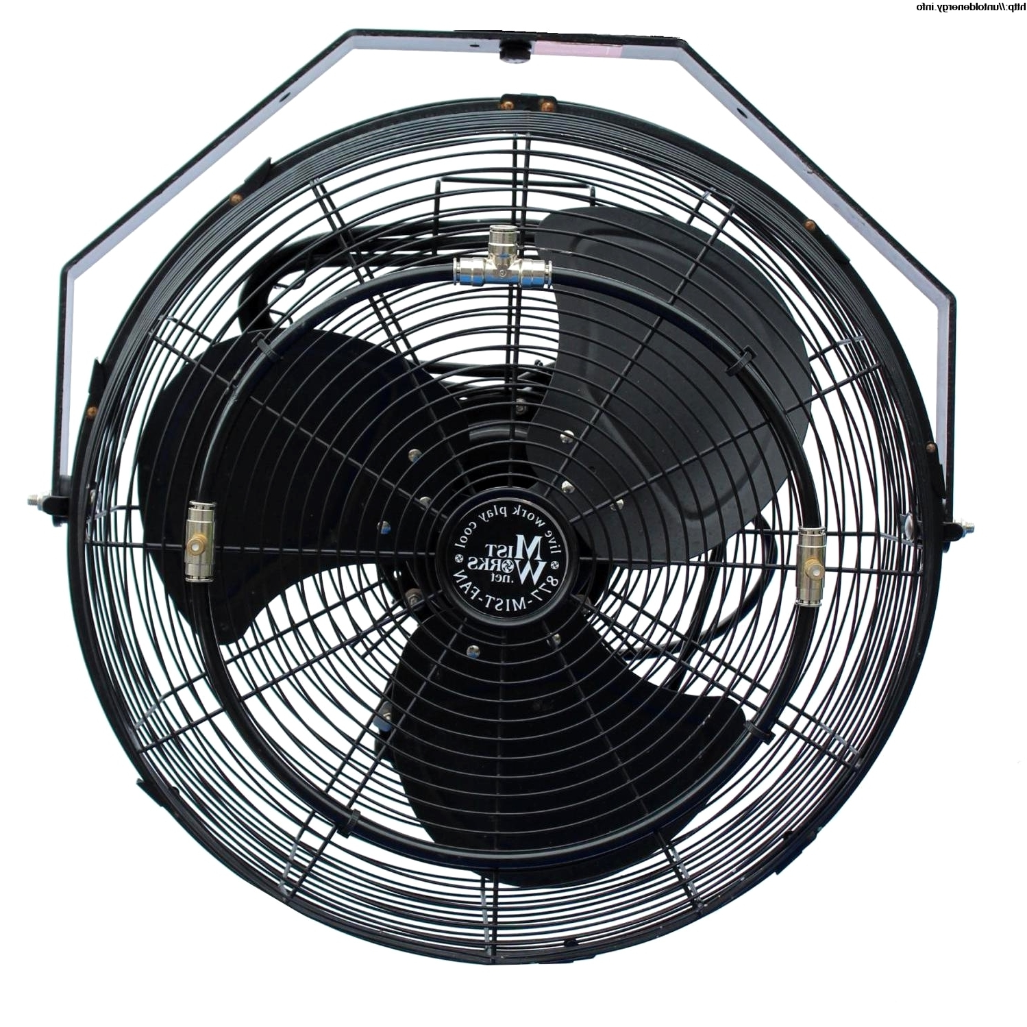 Most Current Outdoor Ceiling Fans With Misters With Regard To Latest Outdoor Fan (View 10 of 20)