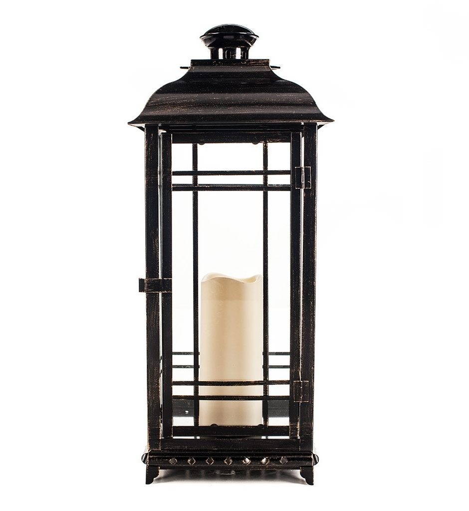Most Current Outdoor Lanterns At Pottery Barn In Lighting: Brighten Up Your Space With Stunning Candle Lanterns (View 10 of 20)